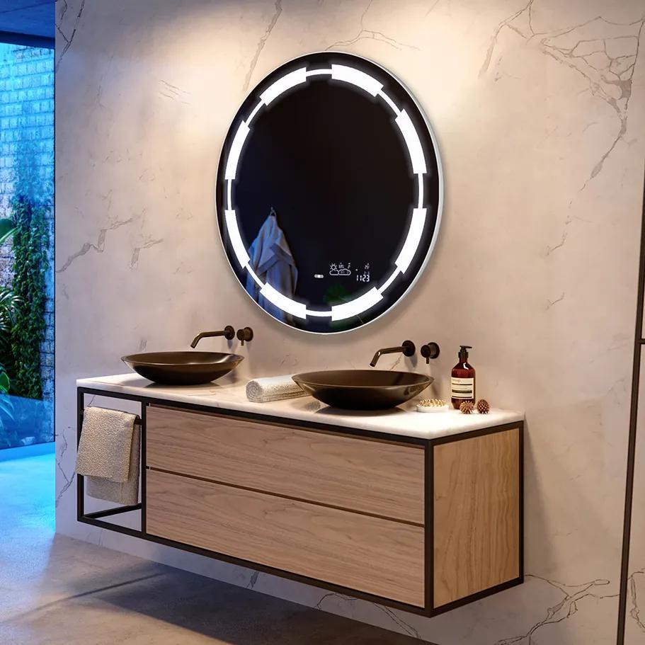 Oglinda baie cu iluminare LED34