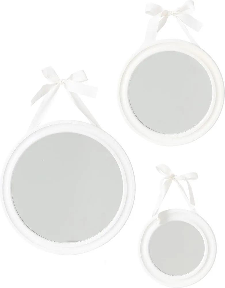 Set 3 oglinzi decorative,Atmosphera Createur d'interieur, Gri