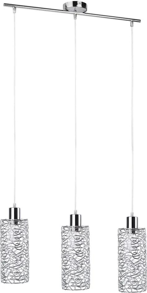 Rábalux Joy 6398 Lampi de sufragerie crom metal E27 3x MAX 60W IP20