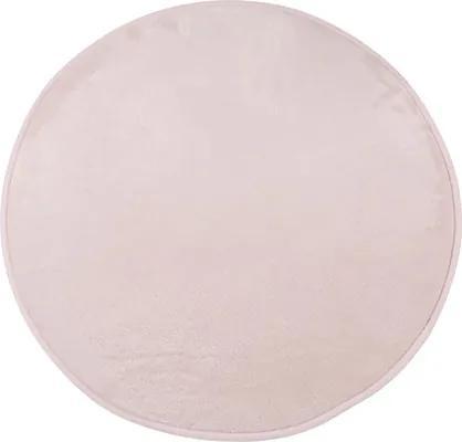 Covor Soft rotund rosé Ø 67 cm