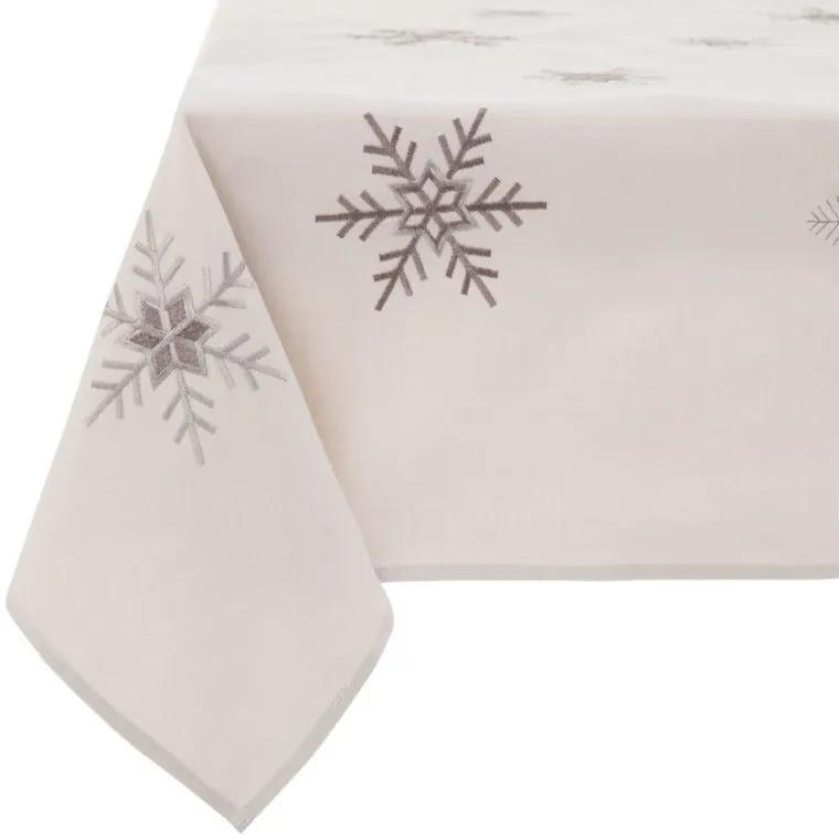 Fata de masa 130x160cm  Ambition Snowflakes