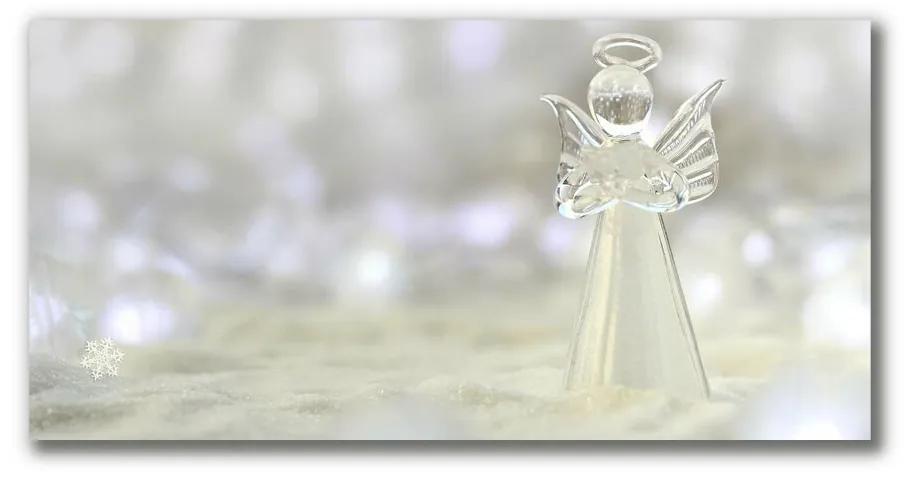 Tablou pe panza canvas Un ornament de înger din sticlă proaspătă