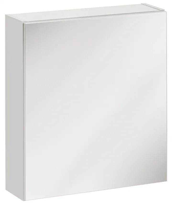 Corp suspendat cu oglinda Twinkle White Alb, 15 cm, 50 cm, 55 cm, Corp suspendat cu oglinda