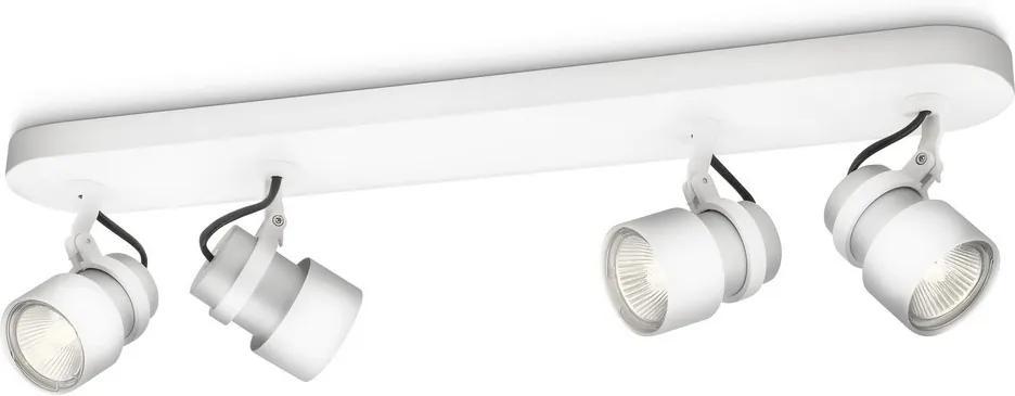 Philips 56444/31/PN - Lampă spot MYLIVING FINISH 4xGU10/35W/230V