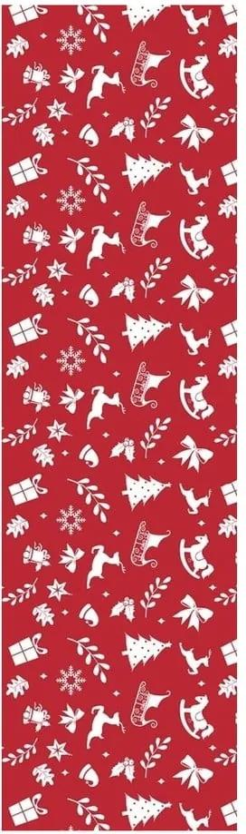 Napron Noel, roșu
