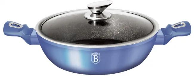 Cratita cu capac 28 cm Metallic Line Royal Blue Edition Berlinger Haus BH 1653N