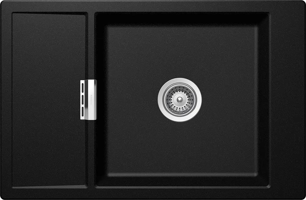 Chiuveta Granit Schock Mono D-100XS Magma Cristadur 780 x 510 mm