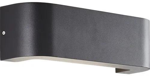 Aplica sus/jos cu LED integrat Burty 1x10,5W 1000 lumeni, pentru exterior IP54, negru