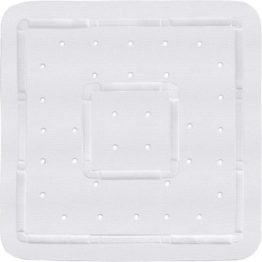 Covoraș antiderapant pentru cabina de duș Wenko Florida, 55 x 55 cm, alb