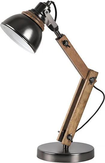 Rábalux Aksel 4199 Veioze, Lampi de masă fag negru E14 1X MAX 15W