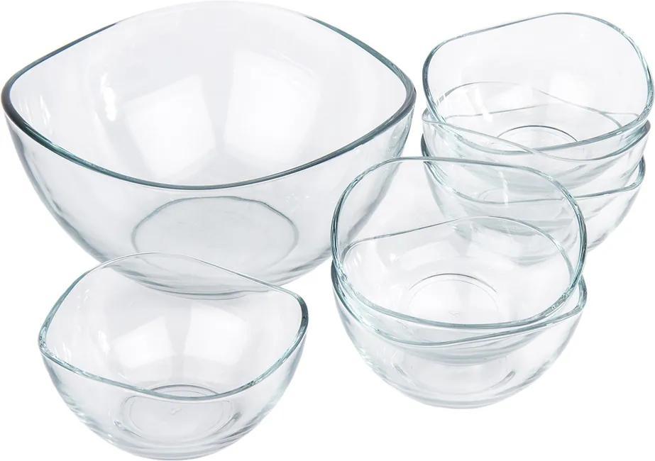 Set boluri din sticlă 7 piese Vira