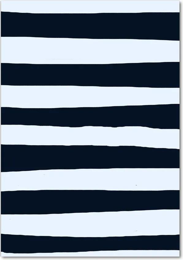 Tablou pe acril Fundal Striped