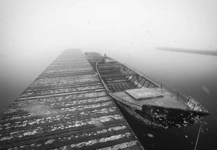 Winter Mood Fototapet, (104 x 70.5 cm)