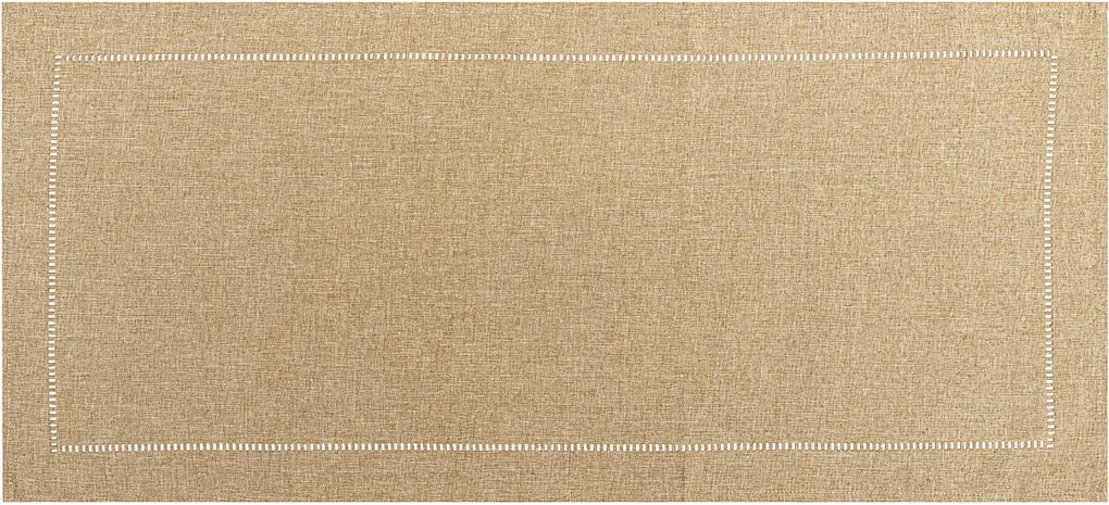 Traversă masă maro, 40 x 140 cm