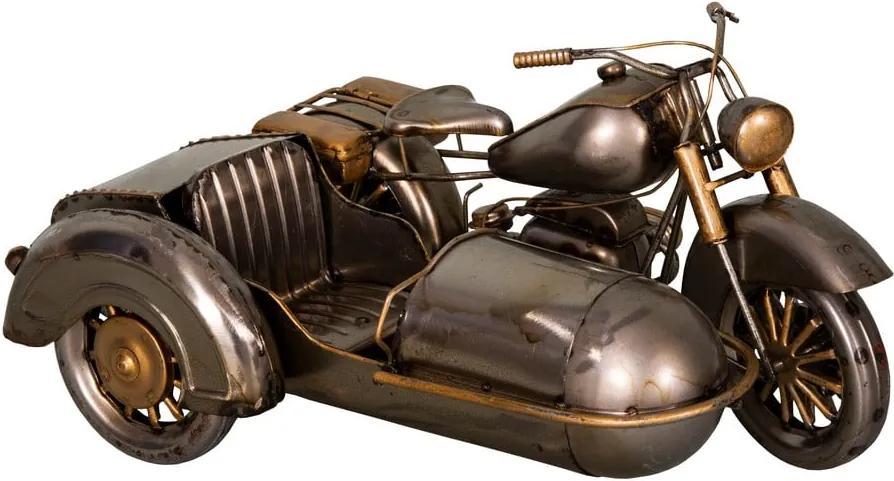 Decorațiune din fier Antic Line Moto, 27 x 19 cm, formă motoretă