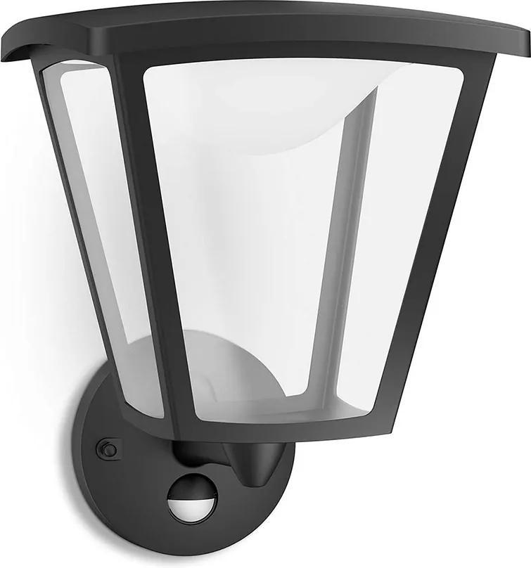 Philips 15488/30/16 - Corp de iluminat LED exterior cu senzor COTTAGE 1xLED/4,5W/230V