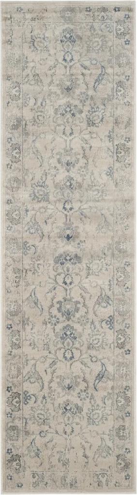 Covor Oriental & Clasic Serafina, Gri/Albastru, 67x240