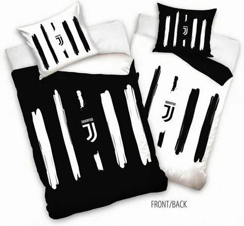 Lenjerie de pat FC Juventus Cinque, 140 x 200 cm,  70 x 90 cm