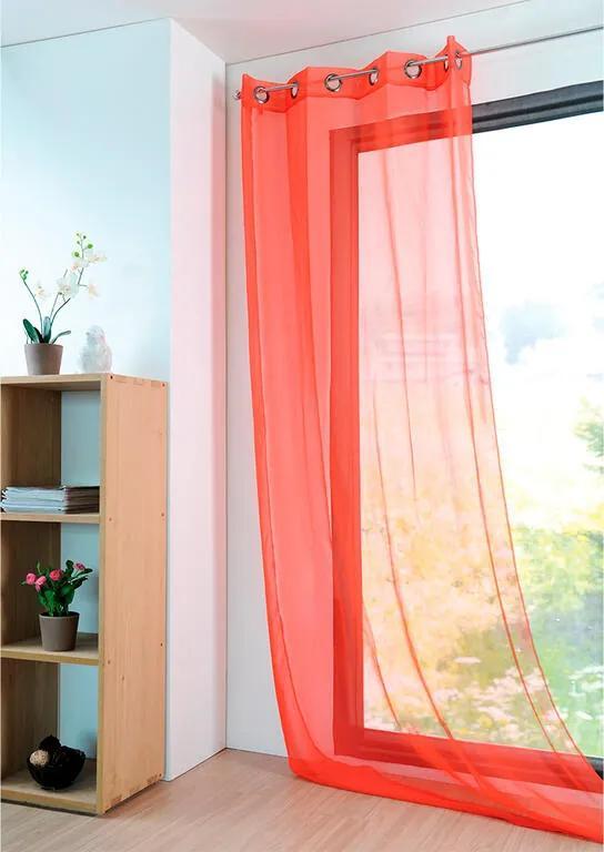 Perdea colorată MONNA coraille, 135 x 260 cm 1 buc