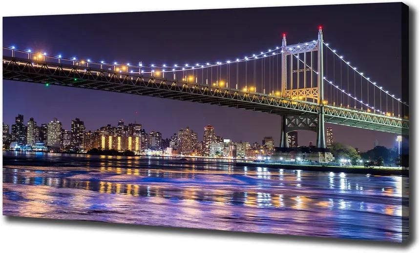 Imprimare tablou canvas Podul în new york city