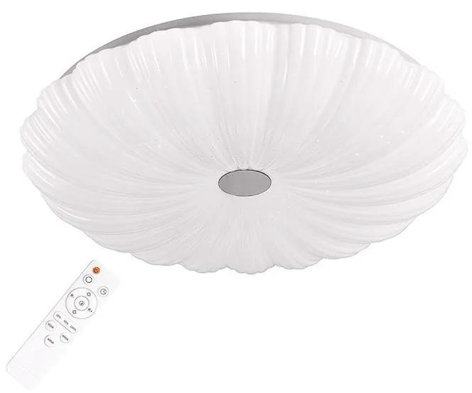 LED Plafonieră dimmabilă FLOWER LED/36W/230V + Telecomandă