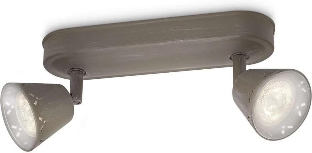 Philips 53252/26/16 - LED Lampa spot MYLIVING IDYLLIC 2xLED SMD/4W/230V