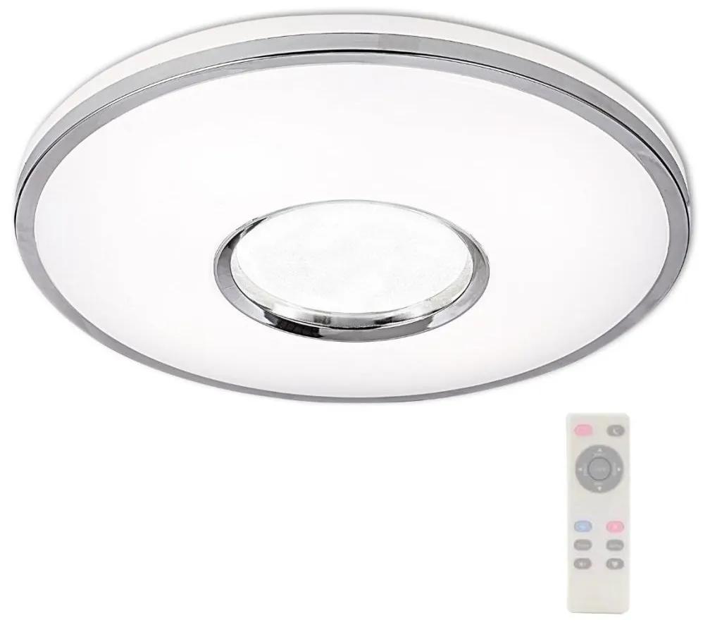 Plafonieră LED LEON LED/24W/230V cu telecomandă