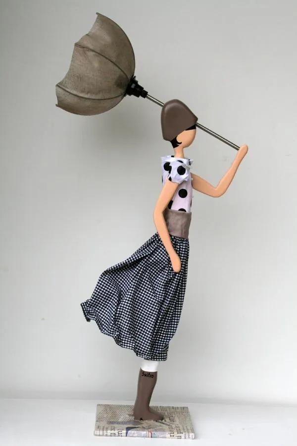 Skitso Girls Jeanmarie Lampa - 85 cm