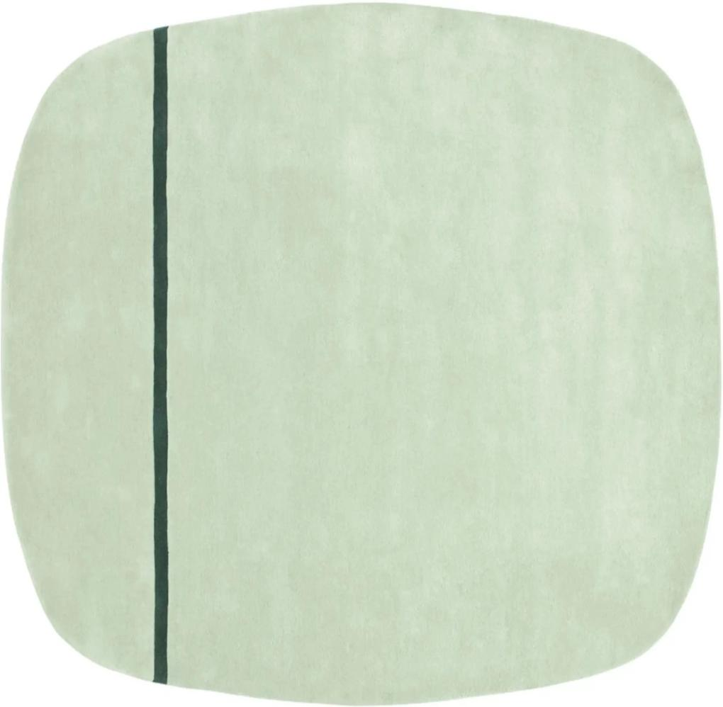 Covor Verde Oona 175x240cm NORMANN COPENHAGEN - Lana Verde Lungime (175cm) x Latime (240cm)