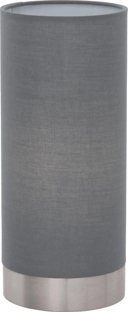 Veioză/Lampă de masă Eglo PASTERI 40W, gri