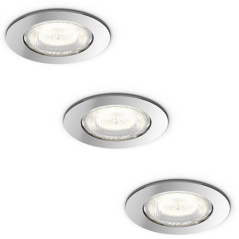 Philips 59008/11/P0 - SET 3x LED lampă încastrată DREAMINESS 3xLED/4,5W