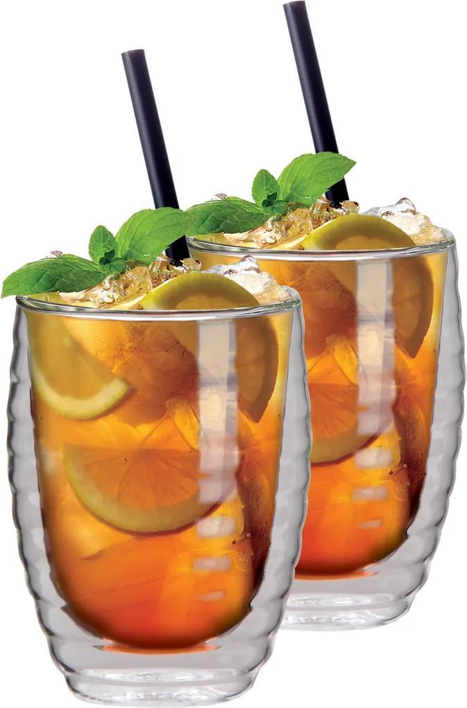 Set de pahare termo Maxxo Ice tea, 2 piese