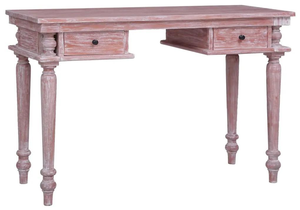 283854 vidaXL Birou, 120x50x78 cm, lemn masiv de mahon