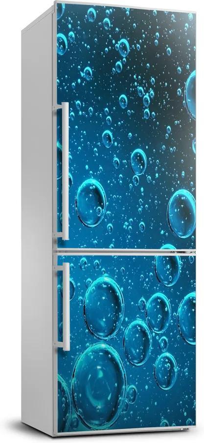 Autocolant pe frigider Bule sub apă