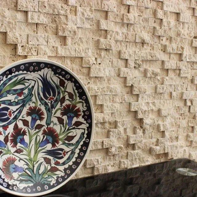 Mozaic Travertin Classic Scapitat 2.5 x 5cm