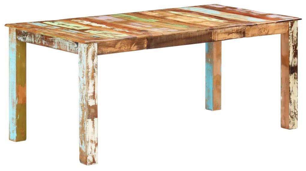 285932 vidaXL Masă de bucătărie, 180 x 90 x 76 cm, lemn masiv reciclat