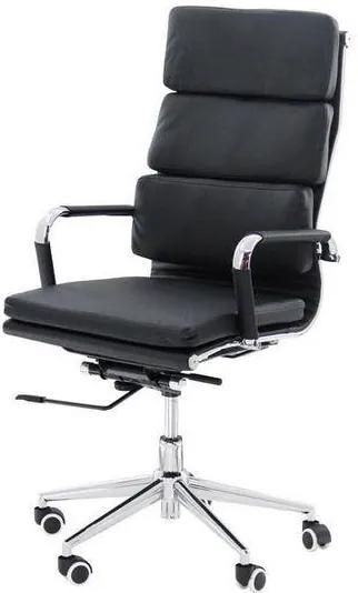 Scaun ergonomic OFF 808 Negru