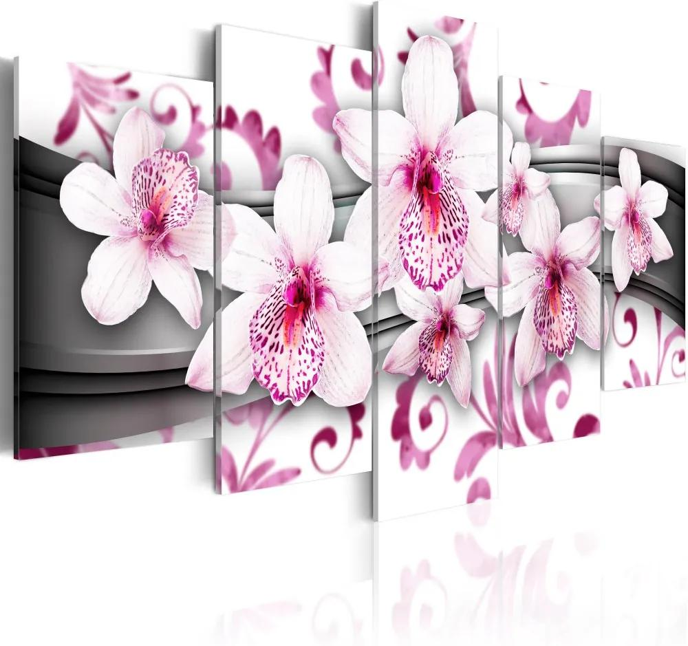 Tablou - Pleasure of pink 100x50 cm