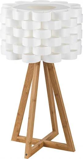 Rábalux Andy 4345 Veioze, Lampi de masă alb Lemn E14 1X MAX 40W IP20