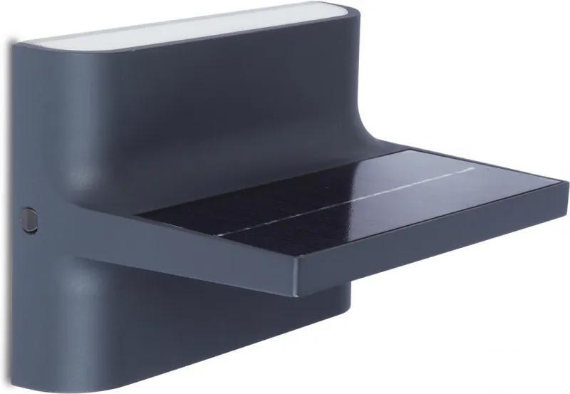 Lutec TWILL 6908901335 Senzor de miscare exterior/solar plastic EVERLIGHT 2835 200lm 4000K IP54 A+