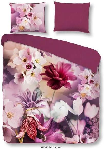 Lenjerie de pat din bumbac Descanso Sonja, 135 x 200 cm