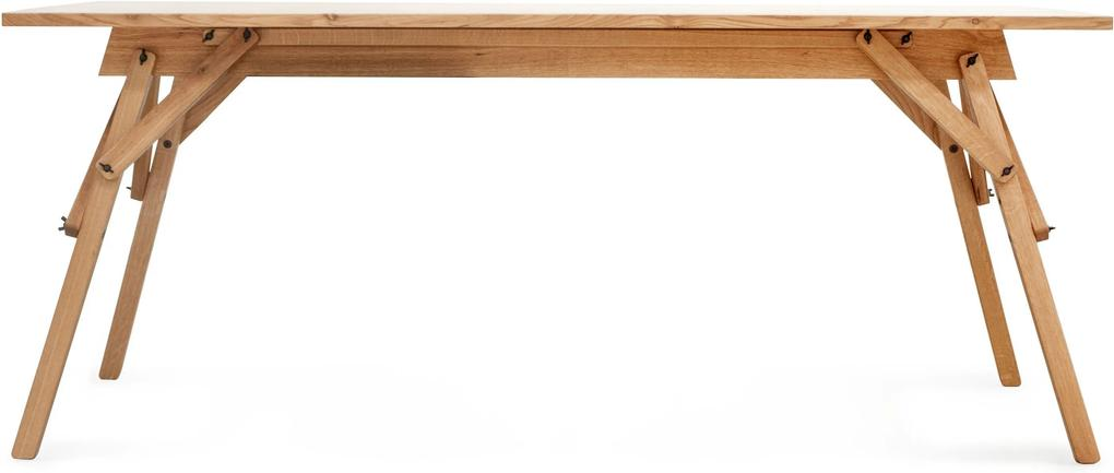 Birou ATELIER by Dragos Motica - Stejar Natur Lungime(1820 mm) x Latime(800 mm) x Inaltime(750 mm)