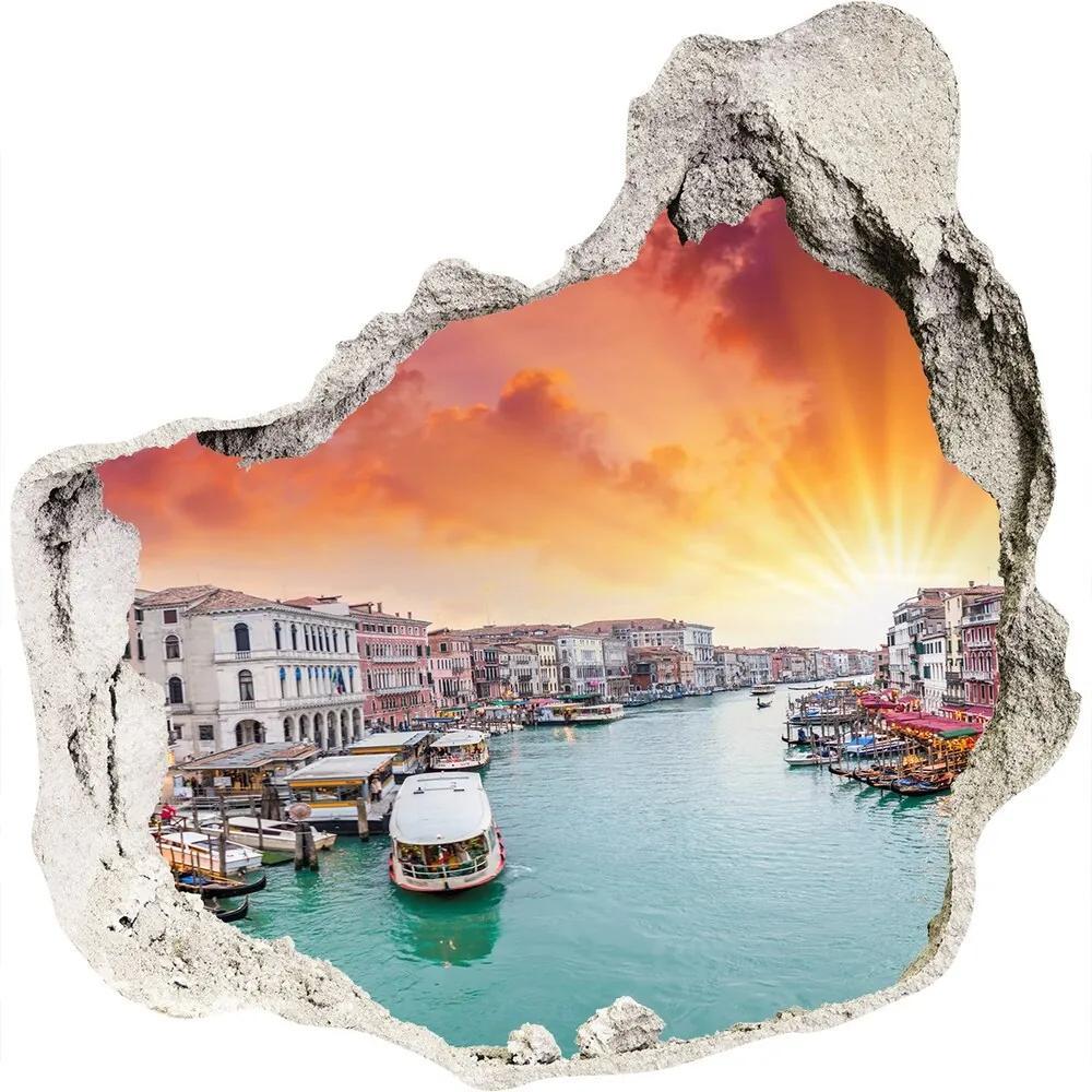 Nálepka fototapeta 3D výhľad betón Benátky