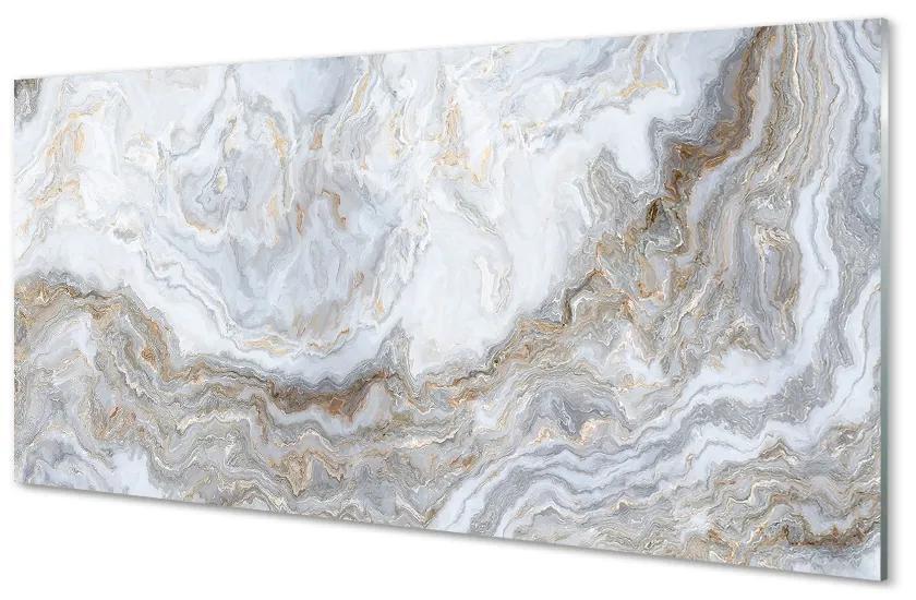 Tablouri pe sticlă pete de piatră din marmură