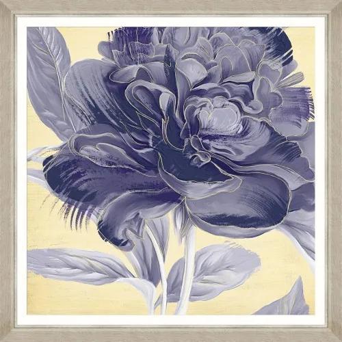 Tablou Framed Art Floral Indigo I