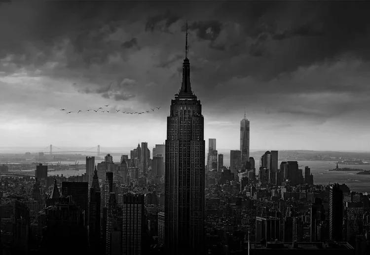 New York Rockefeller View Fototapet, (368 x 254 cm)
