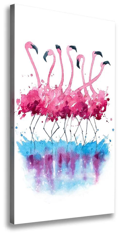 Print pe canvas Flamingos