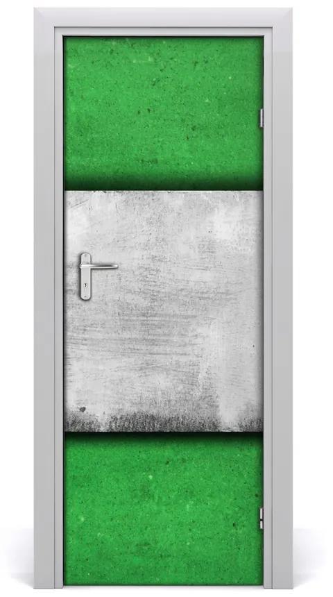 Autocolante pentru usi perete de perete verde