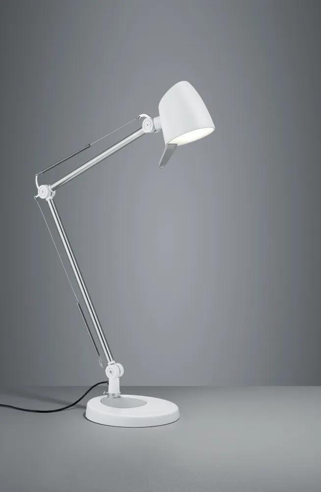 Trio 527690131 Lampi de masa LED RADO alb mat metal incl. 1 x SMD, 5W, 3000+4000+5000K, 550Lm 550lm 3000K IP20 A+