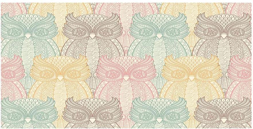Tablou sticlă Owls